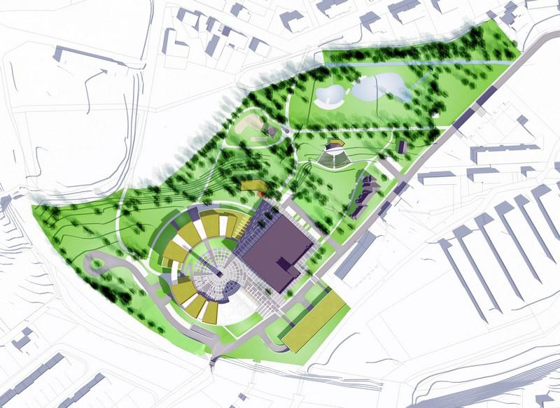 Проект нового кампуса в городе «ИТМО Хайпарк»