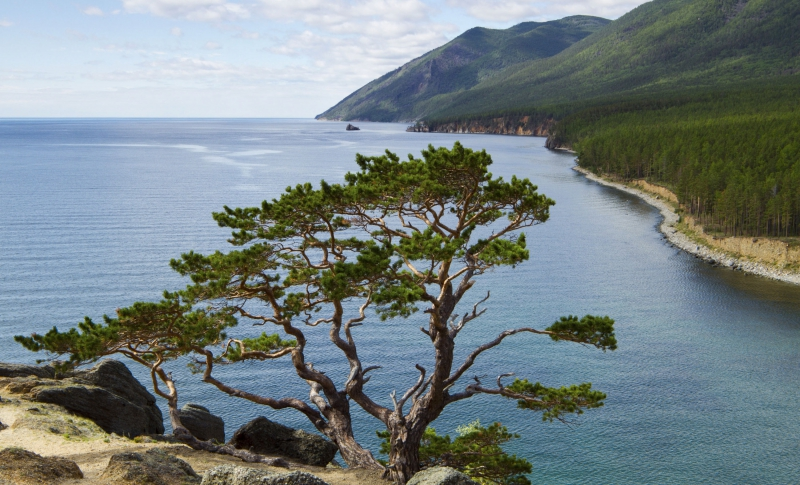 The gorgeous Lake Baikal. Credit: roughguides.com