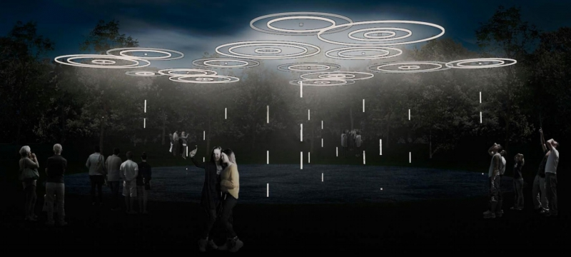 """The Rain"" Installation"