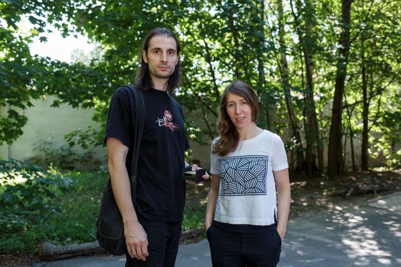 Mikhail Zubkov and Anna Hurshkainen