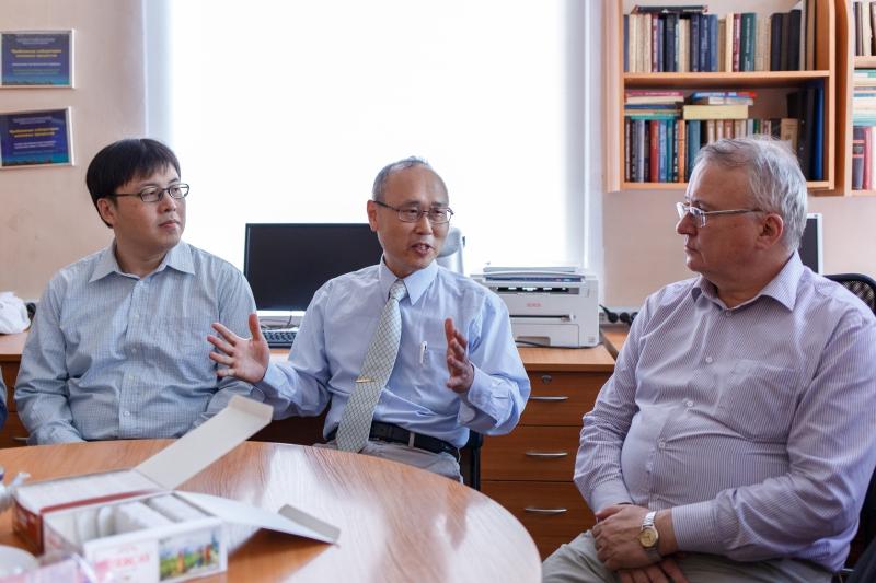 Визит представителей Университета Цинхуа (Тайвань)