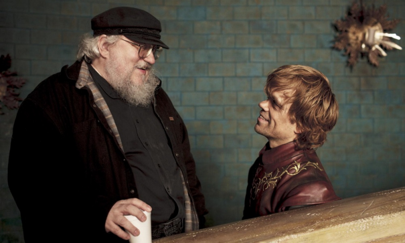 George Martin (left) and Peter Dinklage. Credit: variety.com