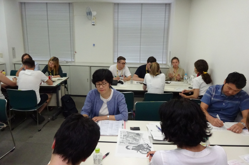 Japanese-Russian experience exchange program on working with disabled people. Credit: Anna San