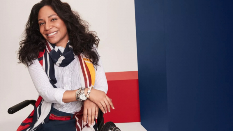 Tommy Hilfiger's line of clothing for people with disabilities