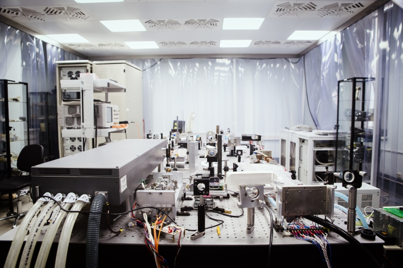 A laboratory at ITMO's Research Institute of Laser Physics