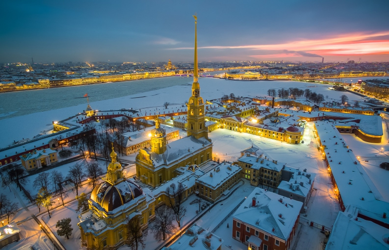 Peter and Paul Fortress. Credit: nat-geo.ru