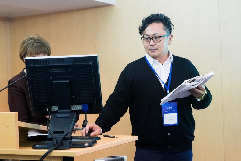 Питч-сессия, организованная Технопарком Университета ИТМО совместно с экспертами из Японии