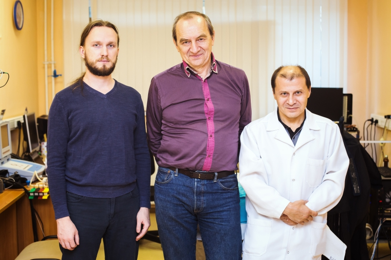 The research team from ITMO University and the Almazov Center