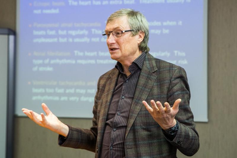 Лекция Александра Панфилова в Университете ИТМО