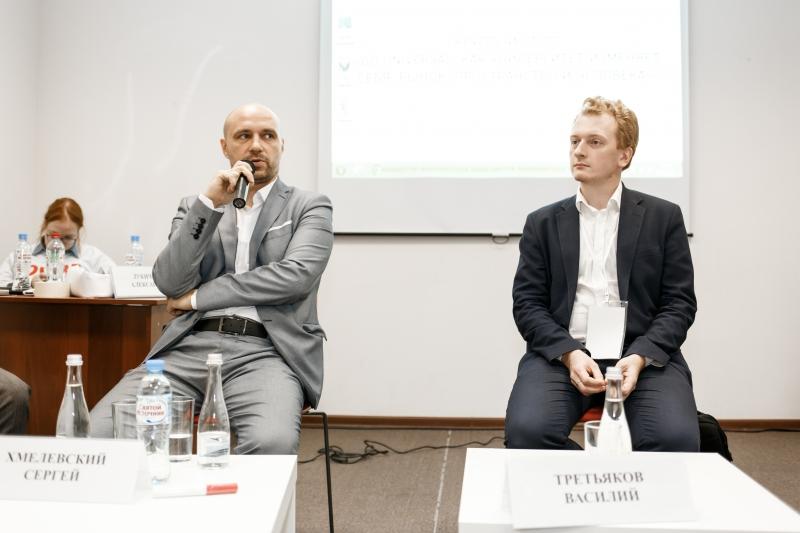 Sergey Khmelevsky and Vasily Tretyakov