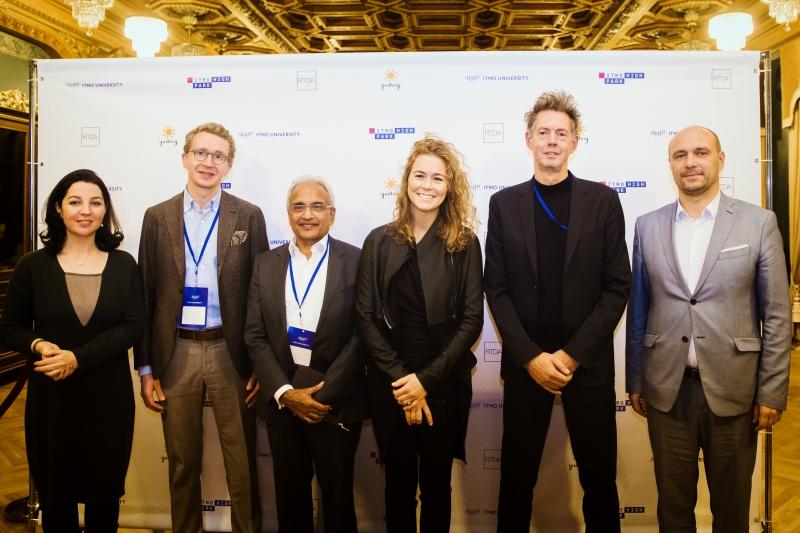 Члены международного экспертного совета проекта «ИТМО Хайпарк»