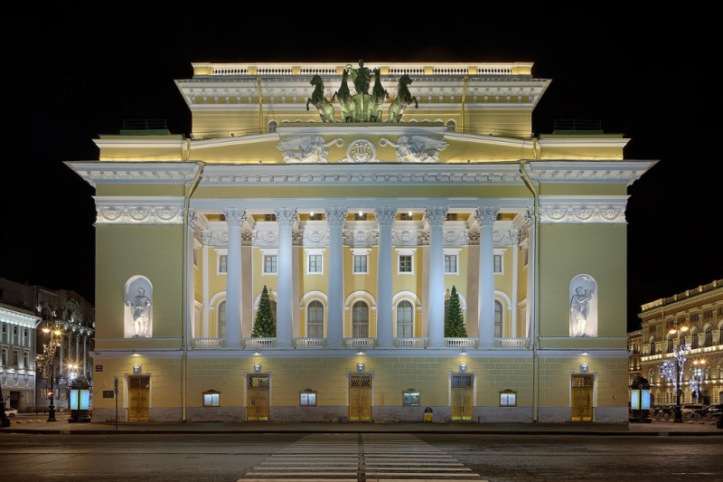 Alexandrinsky Theater. Credit: culture.ru