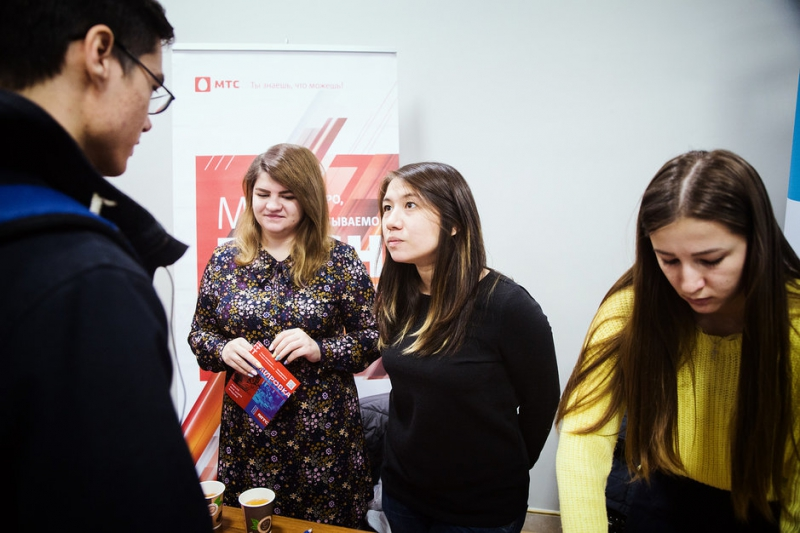MTS at ITMO University's Careers Day