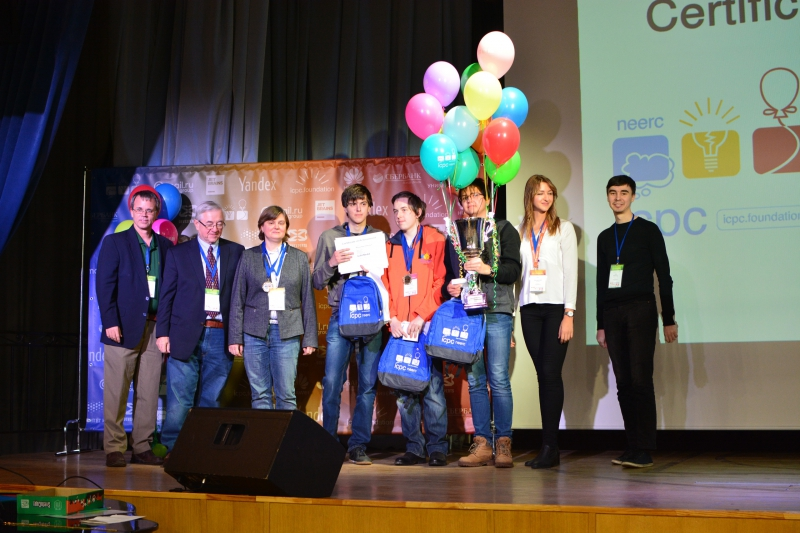Team Moscow SU-3, winners of the North Eurasian Regionals