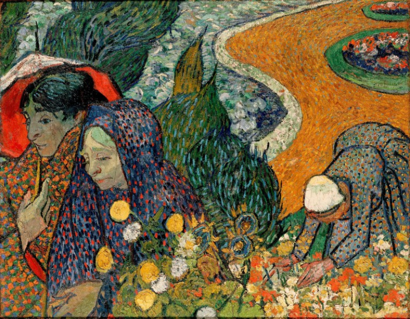 Gems to see in the Hermitage: Van Gogh's Memory of the Garden at Etten. Credit: hermitagemuseum.org