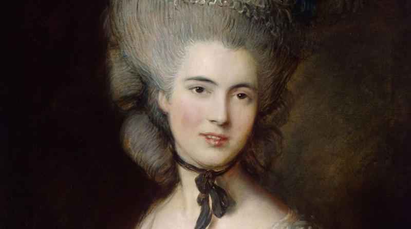 Gems to see in the Hermitage: Gainsborough's Portrait of a Lady in Blue. Credit: hermitagemuseum.org