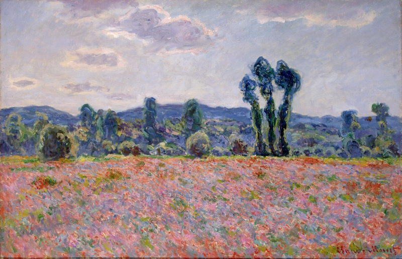 Gems to see in the Hermitage: Claude Monet's Poppy Field. Credit: hermitagemuseum.org