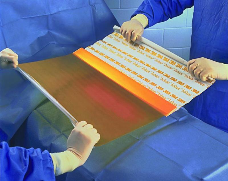 Anti-bacterial film. Credit: medtova.ru