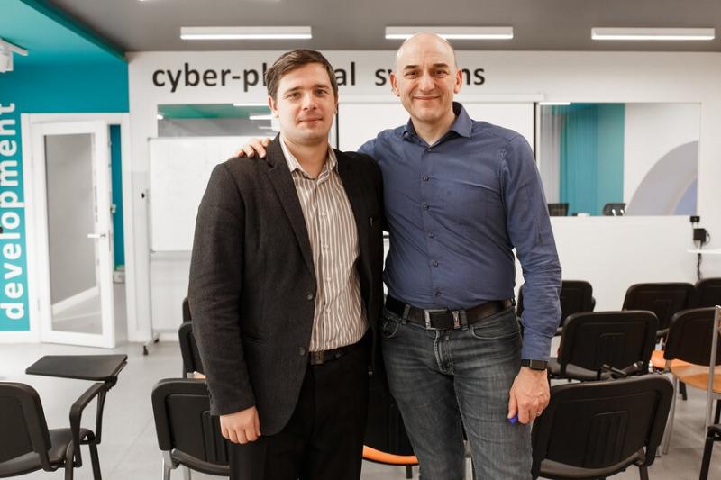Сергей Колюбин и Стефано Страмиджиоли