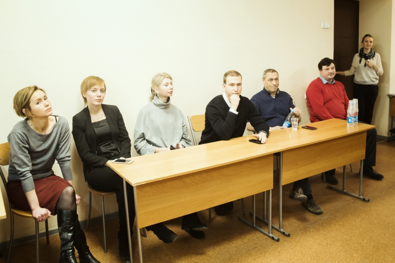 Participants of the visit to Oxford Brookes
