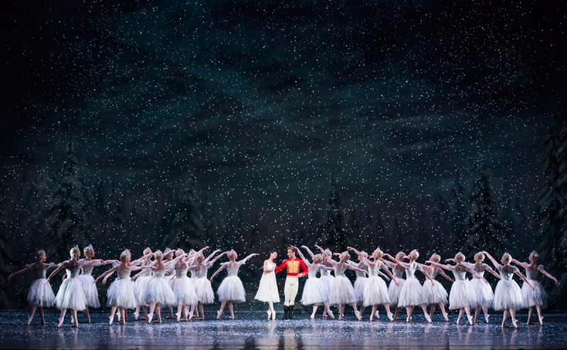 Resplendent: Royal Opera House's Nutcracker. Credit: dancetabs.com