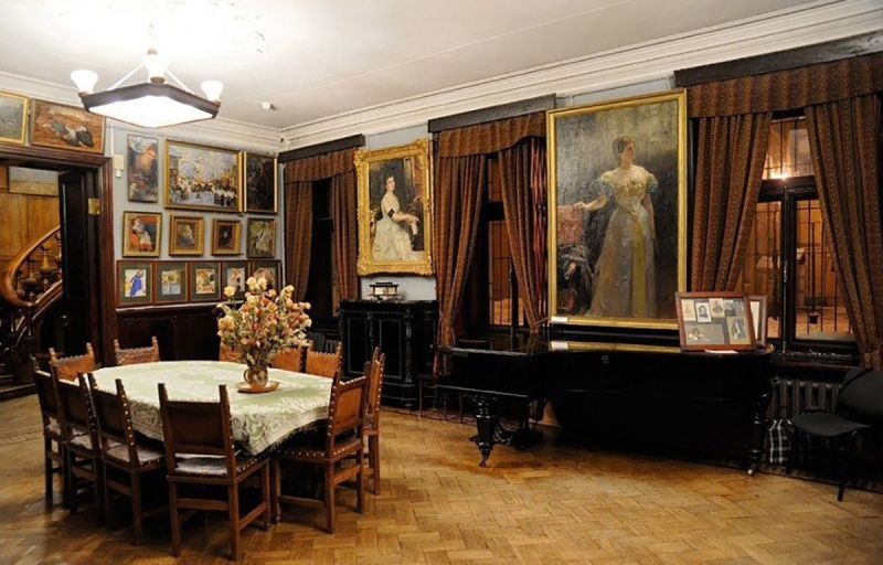 Isaak Brodsky's museum in St. Petersburg. Credit: cityguide-spb.ru