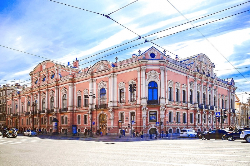 Beloselsky-Belozersky Palace. Credit: 1703piter.ru