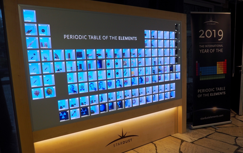 The opening of the International Year of the Periodic Table of Chemical Elements in Paris