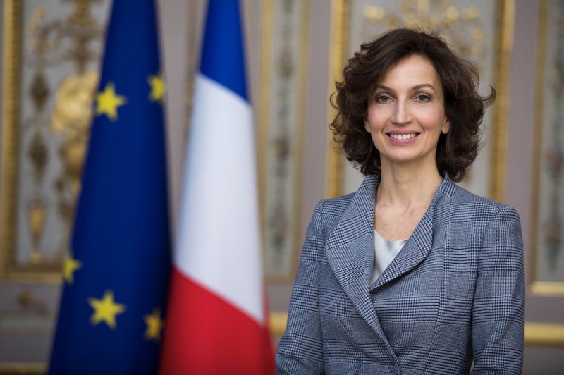 Audrey Azoulay. Credit: theirworld.org