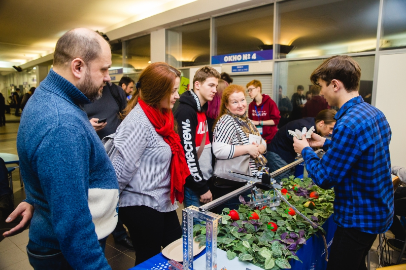 Strawberry Fields at ITMO University's Open Doors Day