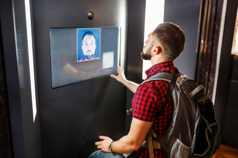 Facial recognition. Credit: shutterstock.com