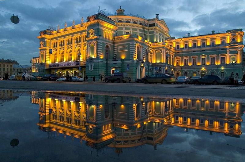 The magnificent Mariinsky Theater. Credit: spb.kassir.ru