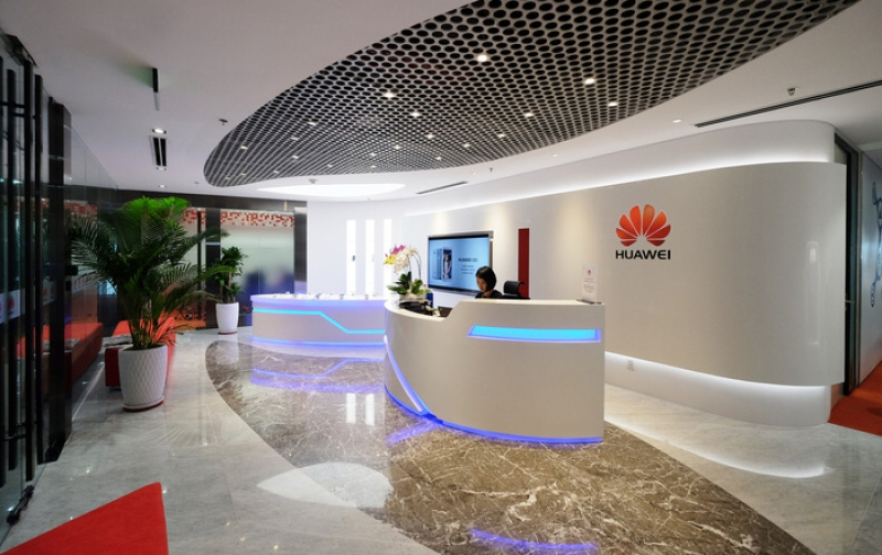 A Huawei office in Ho Chi Mihn City. Credit: officesnapshots.com