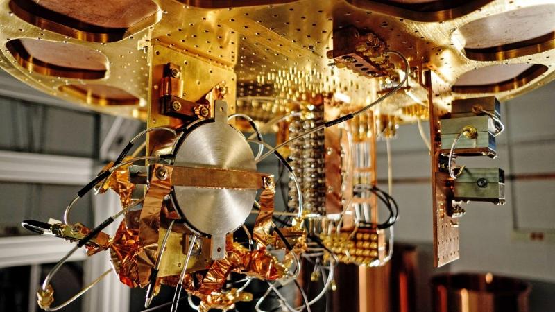 Quantum computer. Credit: analyticsindiamag.com