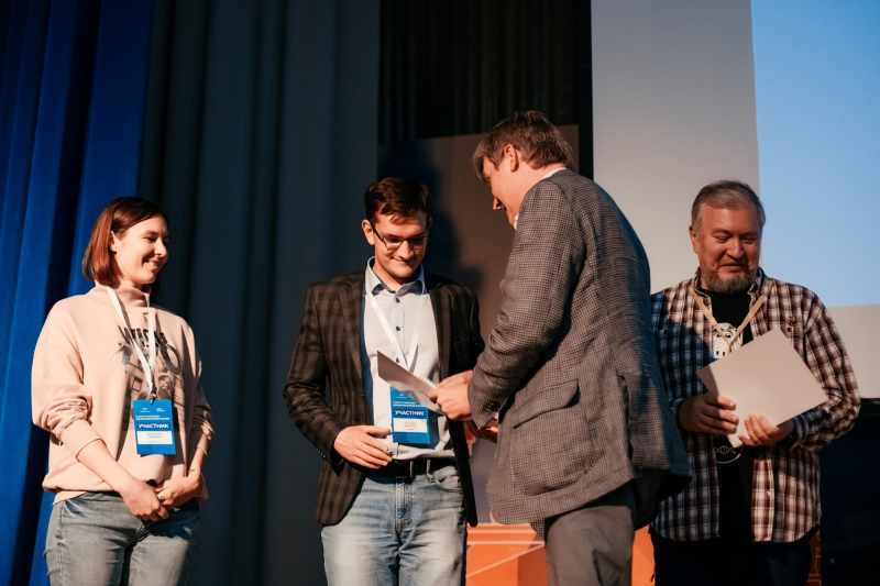 Вручение награды Rusnano Sci&Tech Writer of the Year