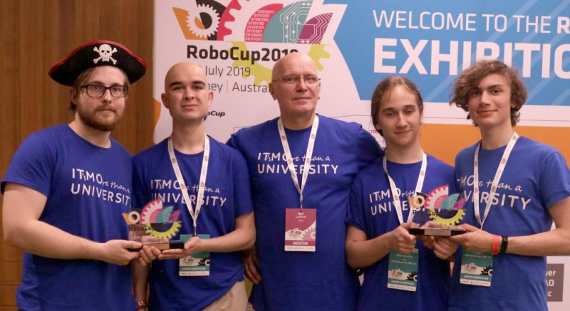 ITMO University's Youth Robotics Laboratory team