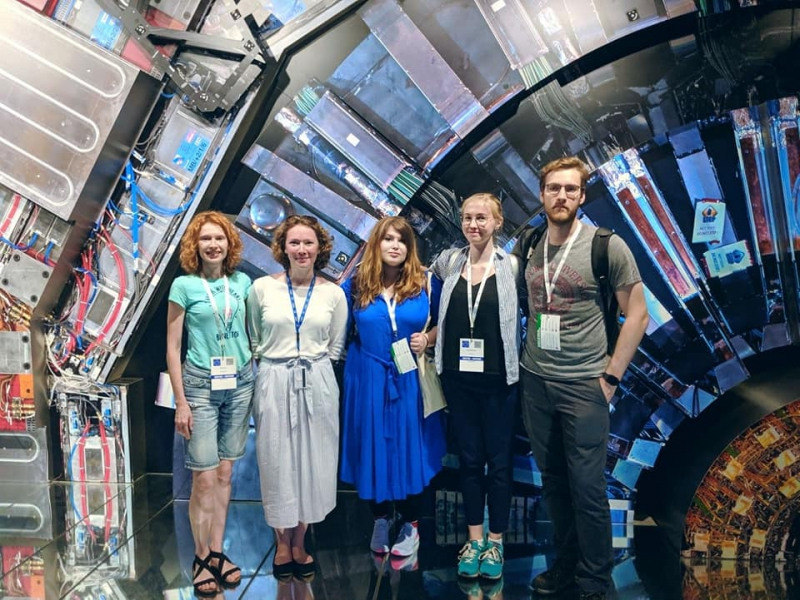 Staff of Science Communication Center at CERN