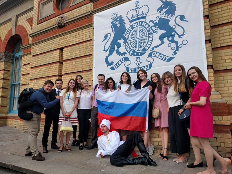 Russian Chevening recipients. Credit: chevening.org