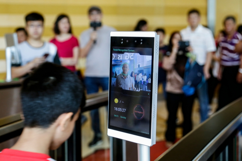 Facial recognition system in Malasia. Credit: shutterstock.com