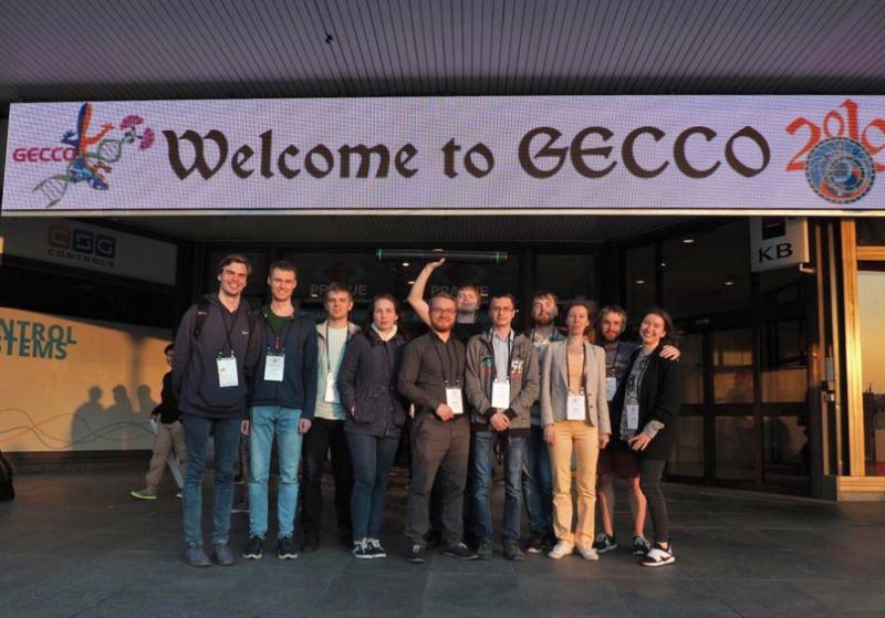 Делегация на GECCO-2019