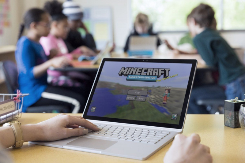 Minecraft Education Edition. Источник: engadget.com