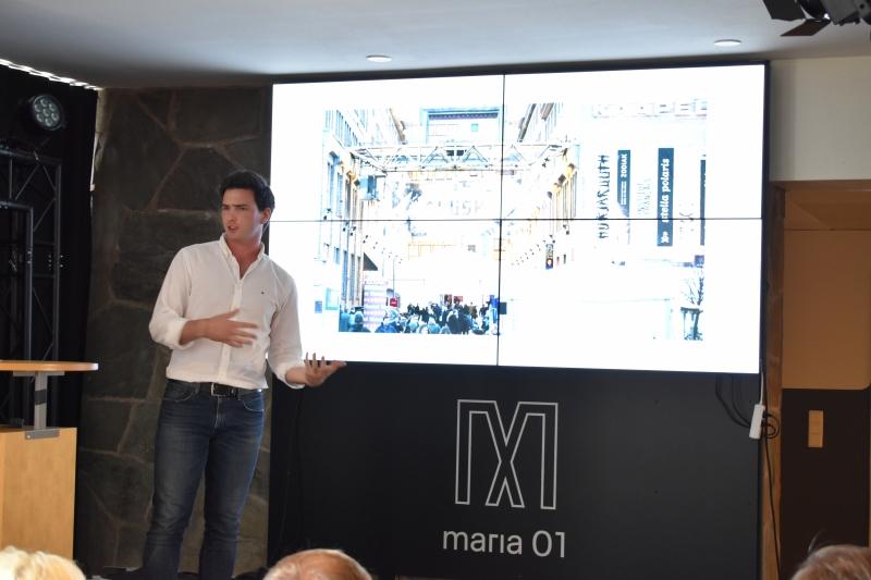Maria 01 startup hub