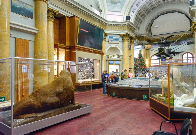 The Russian State Arctic and Antarctic Museum. Credit:shutterstock.com
