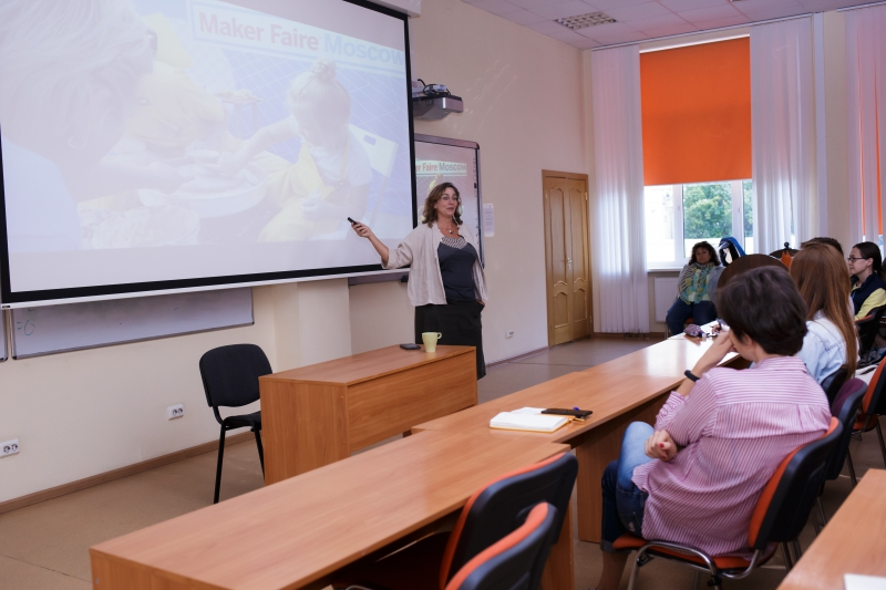 Sabrina Merlo at ITMO University