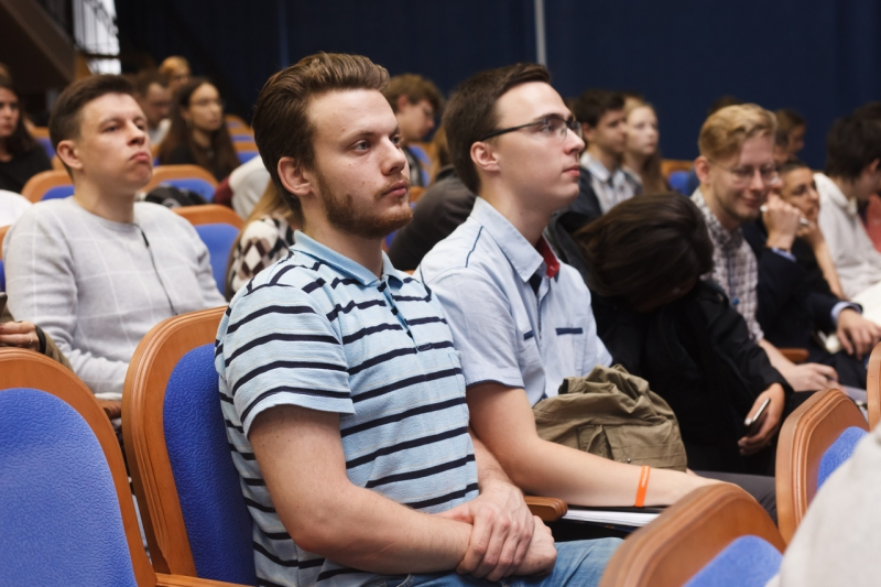 Lecture about academic mobility opportunities for ITMO students