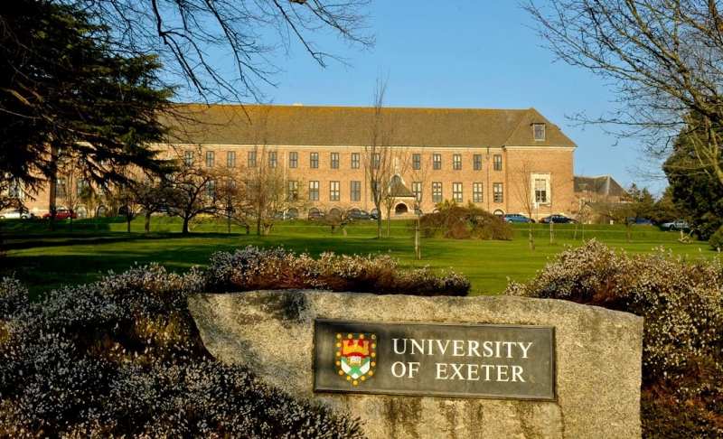 The University of Exeter. Credit: ukstudycentre.com