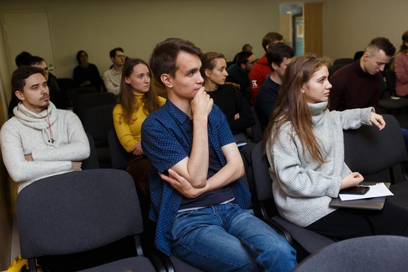 Лекция Александра Мордвинцева в ИТМО