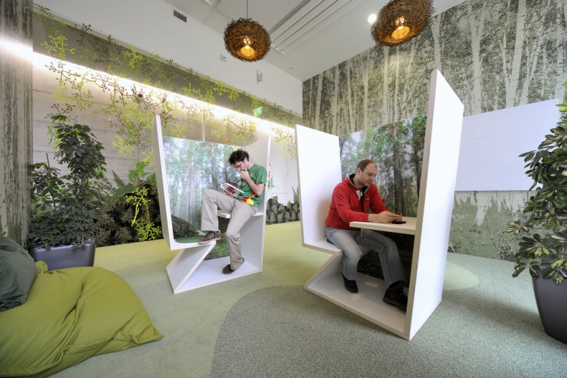Офис Google в Цюрихе. Источник: officesnapshots.com