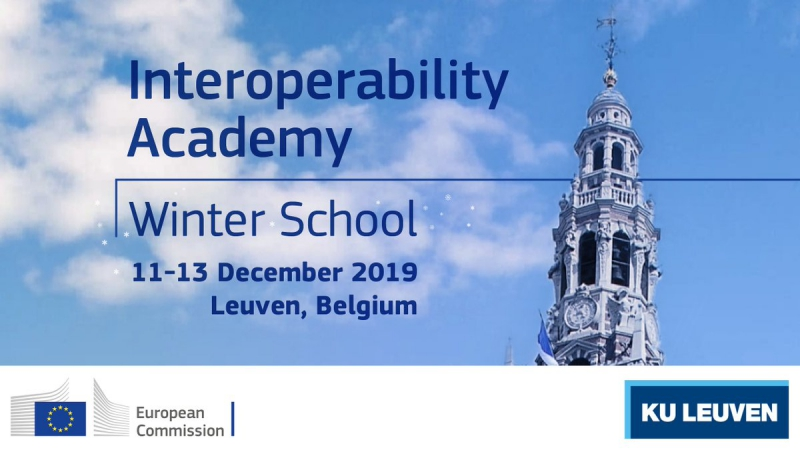 Interoperability Academy Winter Schooll. Credit: twitter.com