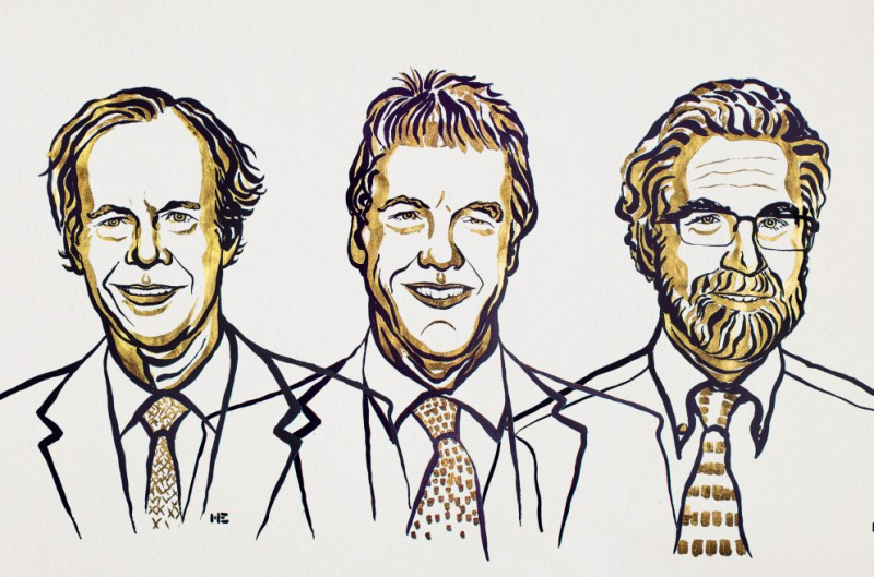 The 2019 Physiology or Medicine Nobel Prize Winners: William G. Kaelin Jr., Sir Peter J. Ratcliffe and Gregg L. Semenza. Credit: nobelprize.org